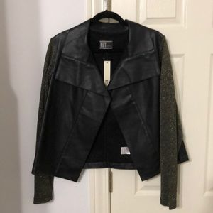 Kut from the allots faux leather jacket